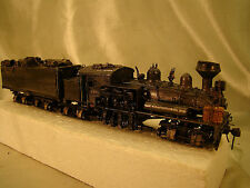 4 Track Steam Logging Shay - custom built, weathered, decorated - lot 9 -HO