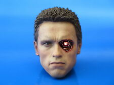 Hot Toys MMS238 Terminator T800 Battle Damaged Ver. LED Head Sculpt 1:6 scale #A