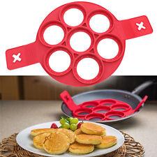 Non Stick Pancake Pan Flip Perfect Breakfast Eggs Omelette Flipjack Maker Tools