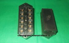 BRAND NEW FUSE BOX WITH 6 FUSE PLUG SLOTS FOR MASSEY FERGUSON TRACTOR