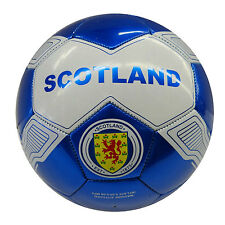 SCOTLAND BLUE WHITE WITH LION FIFA WORLD CUP SOCCER BALL..SIZE: 5