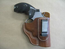 Smith & Wesson 686, 10, 19 S&W IWB Leather In The Waistband Carry HolsterTAN RH