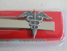 USN NAVY SEAL SAILOR SEABEE AIRMAN HOSPITAL CORPSMAN SILVER TIEBAR TIE CLASP
