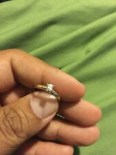 ���� Solid 14k Yellow Gold Solitaire Diamond Engagement Ring 6����Ladies Wedding