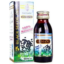 Hemani Black Seed Oil 60ml (Natural/Nigella/Cumin/Sativa/Kalonji)
