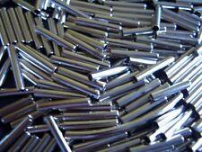 30 Metallröhrchen 2x12mm neu Perlen basteln Kugeln 569