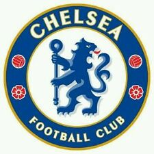2 x CHELSEA FC badge sticker WINDOWS WALLS CAR LAPTOP TABLET GAME CONSOLE
