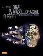 Atlas of Oral and Maxillofacial Surgery by Deepak Kademani 2015 NEW
