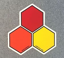 Channel Islands Surfboards Curren Hex Sticker Medium 4in si