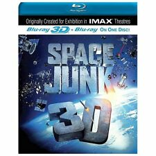 Space Junk (Blu-ray Disc, 2013, 3D/2D) BRAND NEW