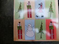 COLLAGE di Natale 90409-STAMPS Happen Inc. NATALE TIMBRO-RARE