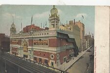 B80189 the hippodrome New York USA  front/back image