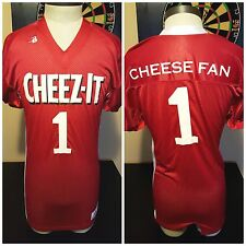 Cheez-It Football Jersey Cheese Fan No. 1 Crackers Snack Super Bowl Fan Packers