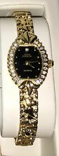 Sarah Coventry Gold Tone Watch Great Condition Needs a Battery & Note Pad