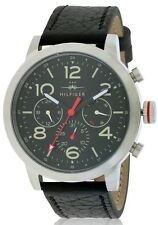 Tommy Hilfiger Leather Chronograph Mens Watch 1791232