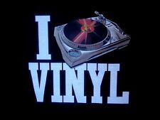 """T -Shirt """" Vinyl -Plattenspieler """" S M L XL XXL  auch als Damen-Girli Shirt  NEU"""