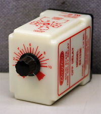 Dayton Electric Mfg. Co. 6X153E Solid State Time Delay Relay .1-10 Seconds