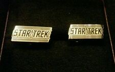 Star Trek Logo Cufflinks Free Shipping