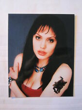"""8"""" x 10"""" Glossy Photo of Young Sexy and Sultry Angelina Jolie"""