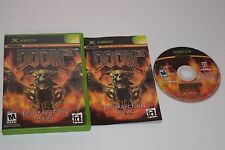 DOOM 3 Resurrection Of Evil Microsoft XBOX Game Complete - TESTED