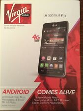 VIRGIN MOBILE  LG Optimus F3 4G LTE ( LG720)  Android smartphone BRAND NEW