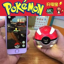 Game Cosplay Pokemon Go Pokeball 10000 Mah LED Quick Charge Power Bank Charger