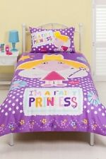 Ben and & Holly I'm a Fairy Princess Single Bed Quilt Duvet Cover
