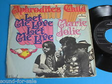 Aphrodite's Child / Let Me Love, Let Me Live - Marie Jolie - 7""