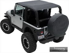Smittybilt Black Diamond Extended Soft Top For 10-16 Jeep Wrangler JK 2 Door