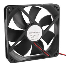 120mm x 25mm 12V 2Pin Sleeve Bearing Cooling Fan for Computer Case SY