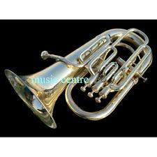 EUPHONIUM 4 VALVE BRASS POLISH WITH FREE CASE & MOUTHPIECE MADE OF PURE BRAND