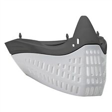 Empire E-Flex Flex Chin/ Mask Bottom - Grey/White - paintball - NEW