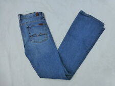 WOMENS 7 FOR ALL MANKIND BOOTCUT JEANS SIZE 28x30.5 #W73