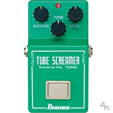 Ibanez TS808 Original Tube Screamer Reissue Overdrive Guitar Effect Pedal