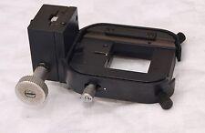 Microscopio LEITZ DIALUX laborlux etc Regolabile Supporto Telaio centraggio del condensatore