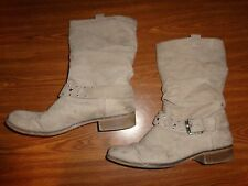 Unlisted by Kenneth Cole Beige BOOTS WOMENS SIZE 10 M