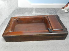 ANTIQUE SINGER 28K SEWING MACHINE BASE c/w TOOL BOX COVER & MOUNTING LUGS ~ 1912