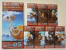 One-piece MEGA World Collectable figure vol.5 Minimery ATTACK all seven