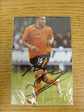 circa 2000s Autographed Glossy Photograph: Hull City - Thomas, Jerome.  When lis