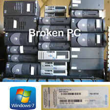 Windows 7 Professional 64 bit and 32 bit Activation Key from broken laptop PC