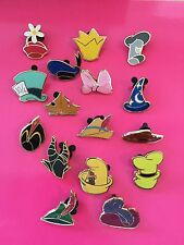 Disney Pins Character Hats-all 16 pins-Fast Shipping by US Seller