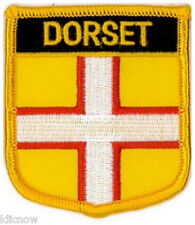 """Dorset (Shield) Embroidered Patch 6CM X 7CM (2 1/2"""" X 2 3/4"""")"""