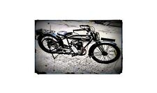 1927 humber Bike Motorcycle A4 Photo Poster