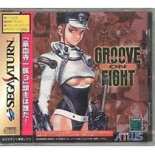 USED Groove On Fight Sega Saturn SS Japan Import