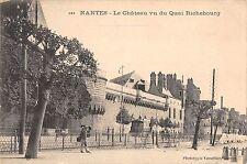 BR78306 le chateau vu du quay richebourg   nantes  france