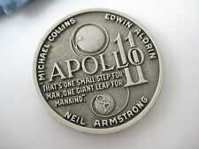 APOLLO 11 FIRST LUNAR LANDING JULY 20 1969 COMMEMORATIVE MEDAL by BALFOUR
