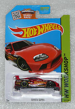 BRAND NEW HOT WHEELS TOYOTA SUPRA RED HW WORKSHOP LONG CARD 201/250