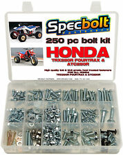 250pc Bolt kit Honda TRX250R Fourtrax 250R fenders plastic body engine frame ATC