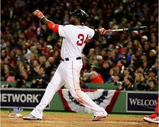 David Ortiz Boston Red Sox 2013 World Series Fenway Park Game 1 HR Photo 8x10