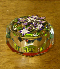 DRAGONFLY JAR #J191 Purple Crystal byWellforth, NEW from Retail Store, Mint/Box